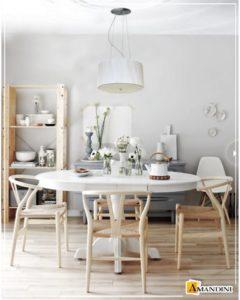 Lustre Para Sala De jantar Com Cúpula - Luminárias
